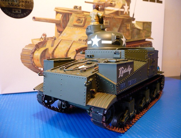 Tunisie - Passe de Kasserine 1942- M3 Medium tank LEE MKI   - Tamiya 1/35  - réf= 35039-1900 P1050558