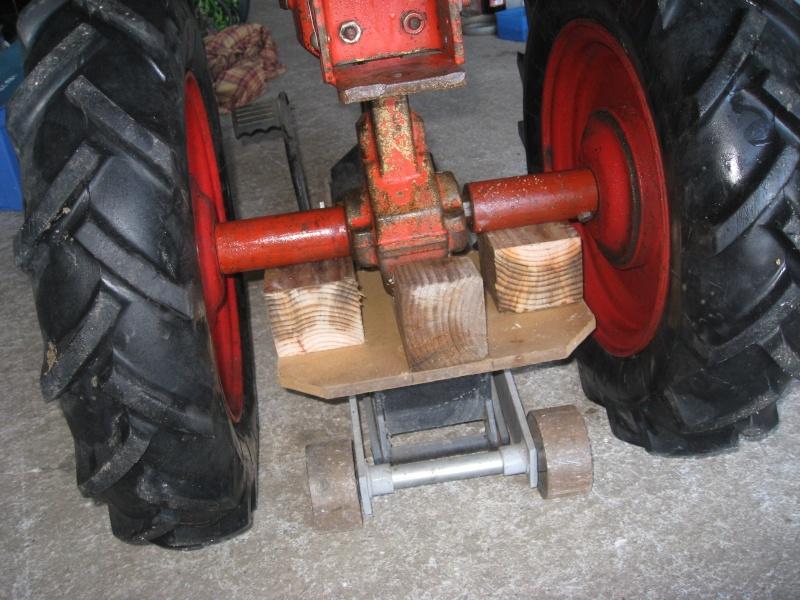 montage simpliste pou faciliter l echange des roues sur t 45 Img_0235