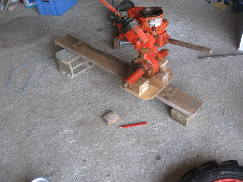 montage simpliste pou faciliter l echange des roues sur t 45 Img_0238