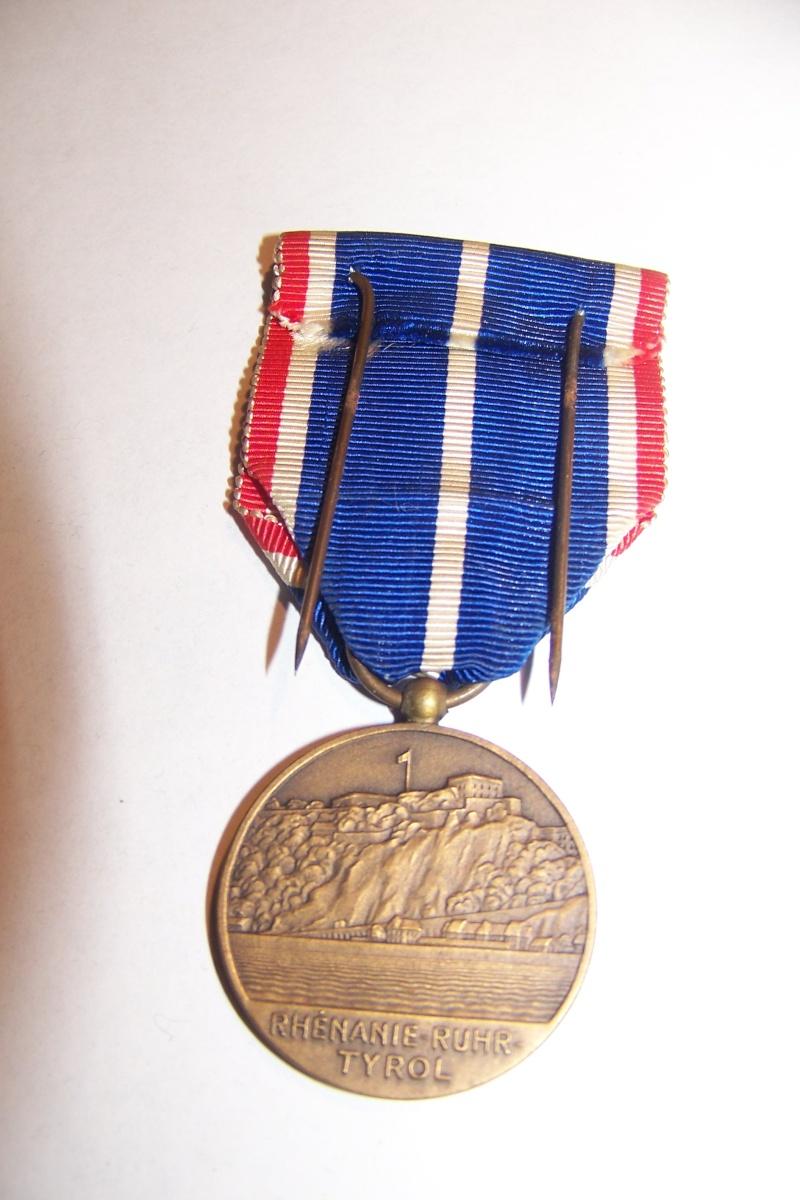 Médaille d'occupation de la Rhénanie et de la Ruhr 100_9921