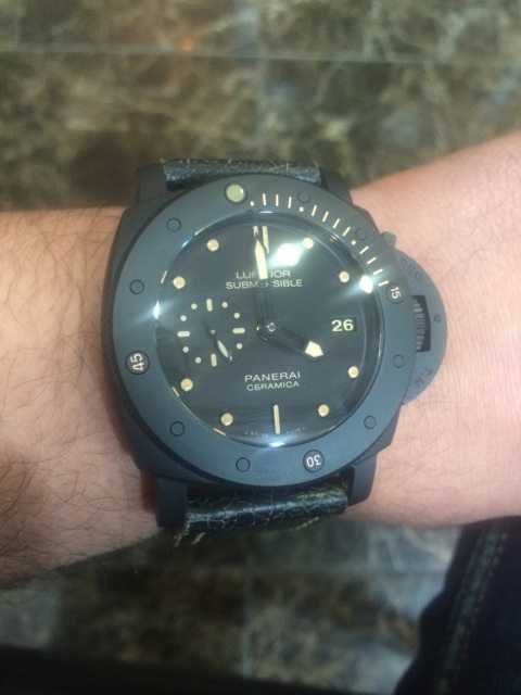 Vends-Panerai Submersible Pam508 Mms_2011