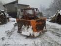 Trattori con vomero oppure lama da neve. Foto1115