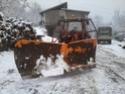 Trattori con vomero oppure lama da neve. Foto1116