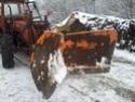 Trattori con vomero oppure lama da neve. Foto1117