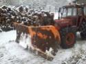 Trattori con vomero oppure lama da neve. Foto1118