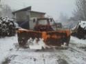 Trattori con vomero oppure lama da neve. Foto1120