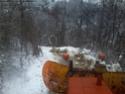 Trattori con vomero oppure lama da neve. Foto1415