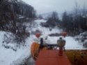 Trattori con vomero oppure lama da neve. Foto1416