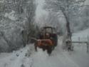 Trattori con vomero oppure lama da neve. Foto1532