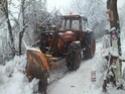 Trattori con vomero oppure lama da neve. Foto1534