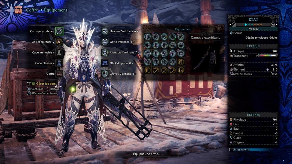 [Set Iceborne] Iaido Build10