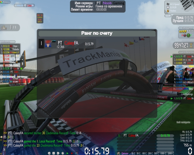 Trackmania Nations Forever Nadeo Screen13