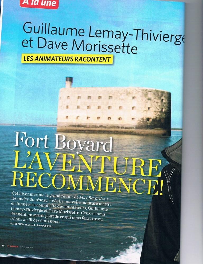 [Officiel] QUÉBEC - Fort Boyard 2013 (Diff 2014) - Page 3 7_jour20