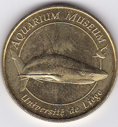 Pièce et Medaille souvenir Aquari10