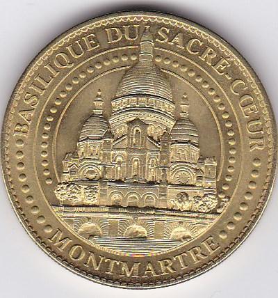Pièce et Medaille souvenir Basili10