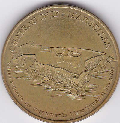 Pièce et Medaille souvenir Chatea11