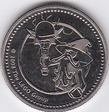 Pièce et Medaille souvenir Legola10