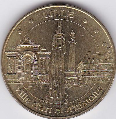 Pièce et Medaille souvenir Lille_10