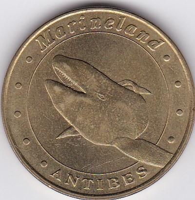 Pièce et Medaille souvenir Marine10