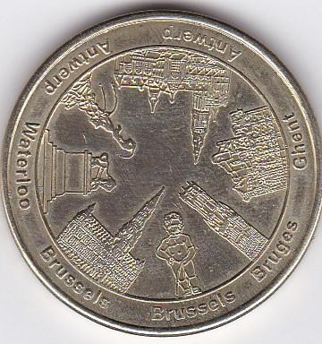 Pièce et Medaille souvenir Monume10