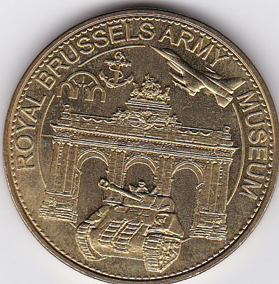 Pièce et Medaille souvenir Musae_10