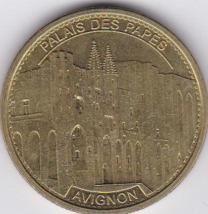 Pièce et Medaille souvenir Palais10