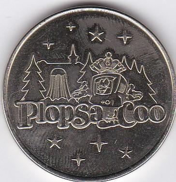 Pièce et Medaille souvenir Plopsa10