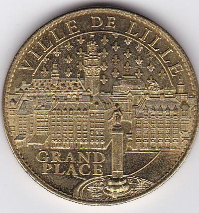 Pièce et Medaille souvenir Ville_10