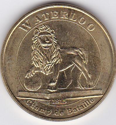Pièce et Medaille souvenir Waterl10