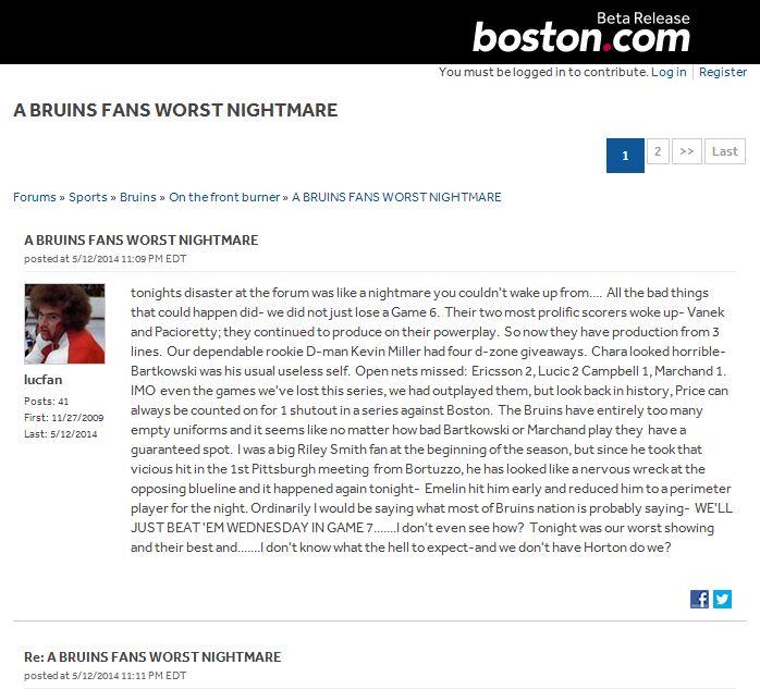 Série Habs vs Bruins  - Page 13 Loser10