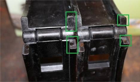 Collier de fermeture couvercle boite à filtre Couver10