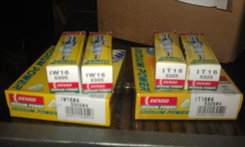 deux lots de bougies.Lesquelles sont pour cricri et lesquelles pour Pontiac transport 3.8 Imag3510