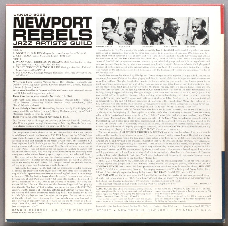 Newport Rebels (1961) Candid10