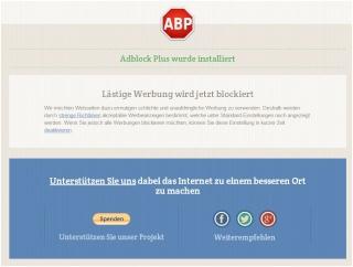 Internet-Werbung ausschalten - so funktioniert es Adbloc10