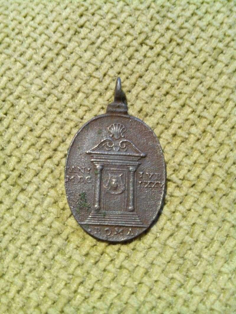 Médaille de Saint Jean le Baptiste, du Jubilé de 1625. Img_2018