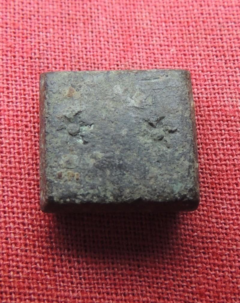 Poids pour le double écu (ou double pistole, ou dos escudos)  utilisé de Charles Quint jusqu'en 1820 Poids_10