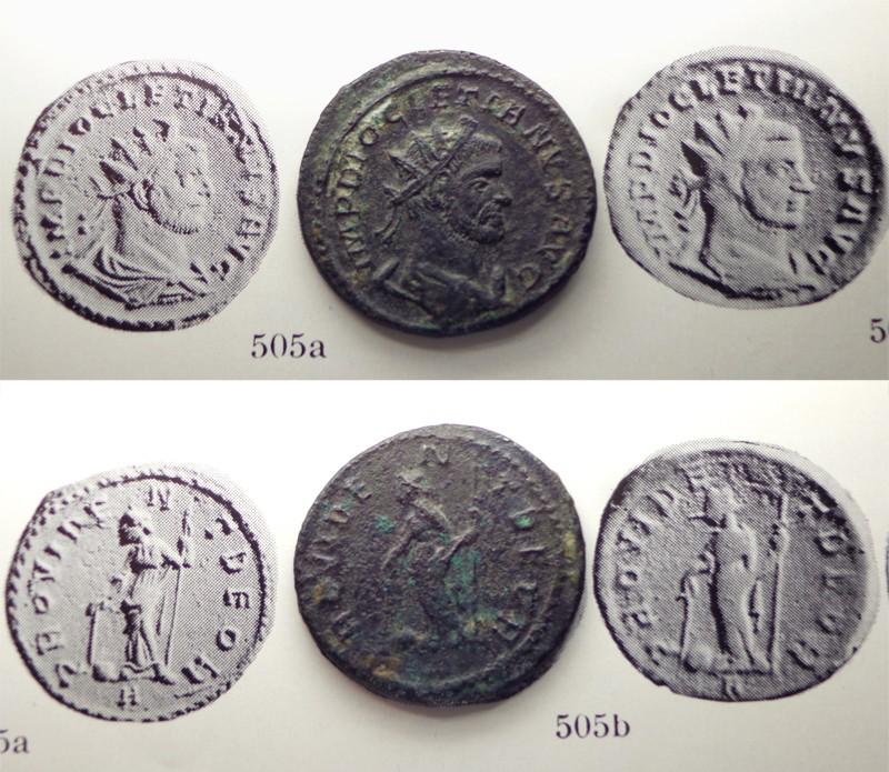 Aureliani de Lyon de Dioclétien et de ses corégents - Page 3 Ant03110