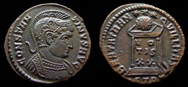 Quelques monnaies d'une collection constantinienne. Bsg1010