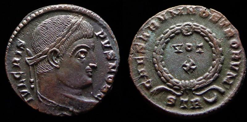 Quelques monnaies d'une collection constantinienne. Bsg110