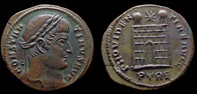 Quelques monnaies d'une collection constantinienne. Bsg1110