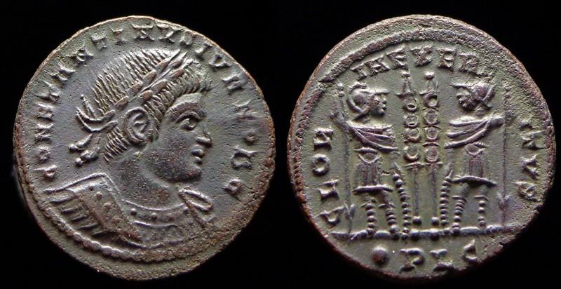 Quelques monnaies d'une collection constantinienne. Bsg1210