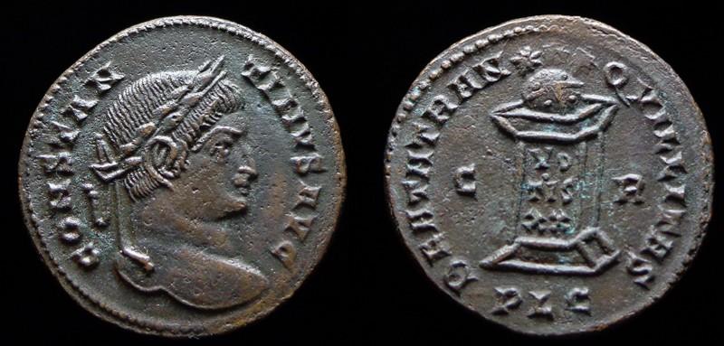 Quelques monnaies d'une collection constantinienne. Bsg1310