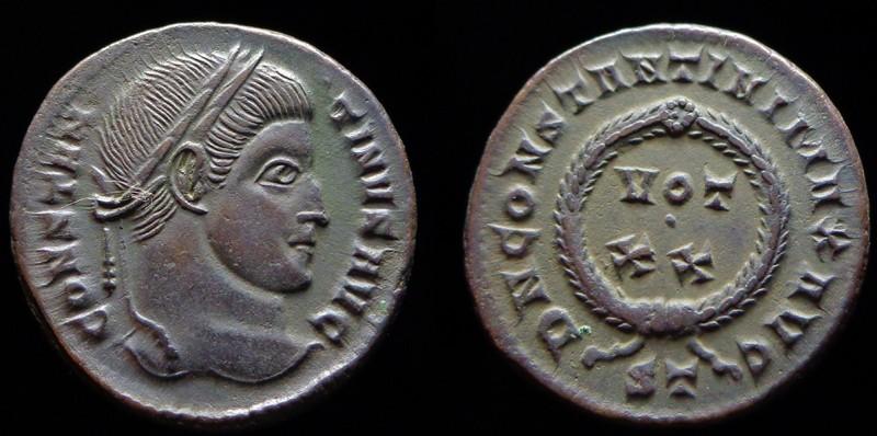 Quelques monnaies d'une collection constantinienne. Bsg1510