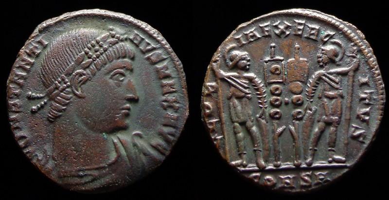 Quelques monnaies d'une collection constantinienne. Bsg1610