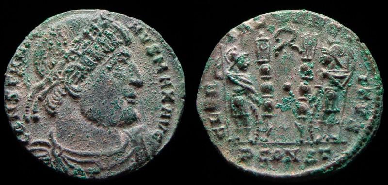 Quelques monnaies d'une collection constantinienne. Bsg1710