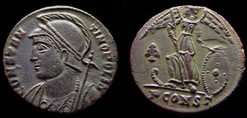 Quelques monnaies d'une collection constantinienne. Bsg1810