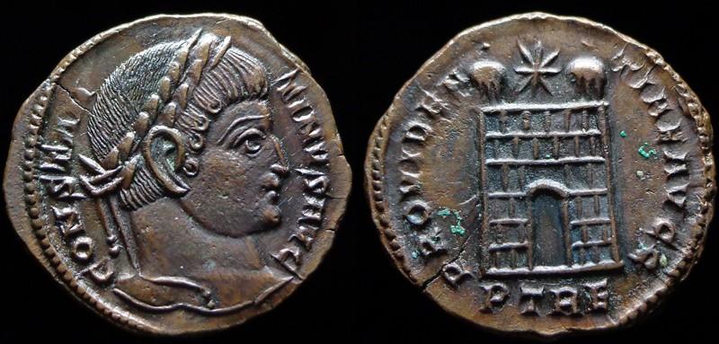 Quelques monnaies d'une collection constantinienne. Bsg1910