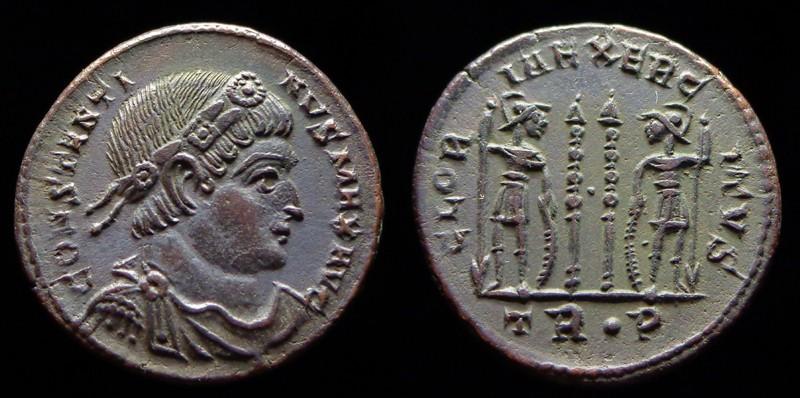 Quelques monnaies d'une collection constantinienne. Bsg2010
