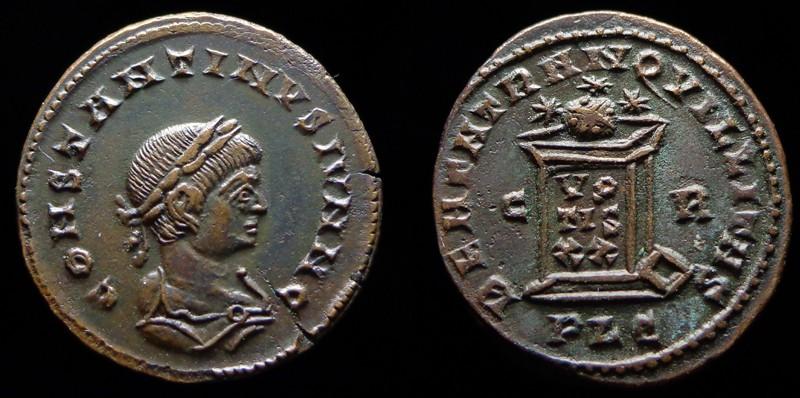 Quelques monnaies d'une collection constantinienne. Bsg210