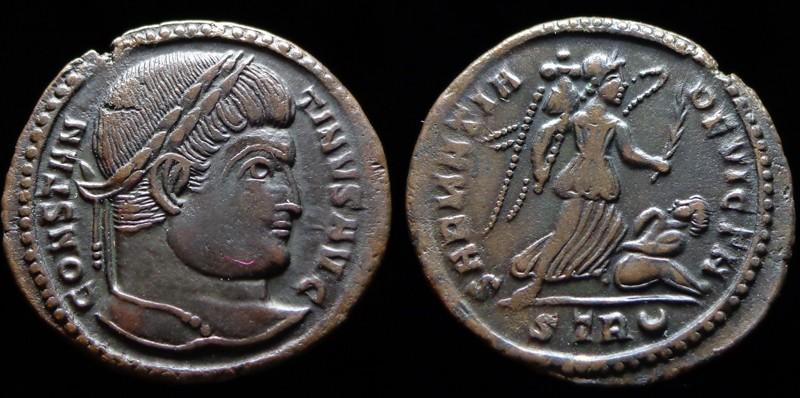 Quelques monnaies d'une collection constantinienne. Bsg2110